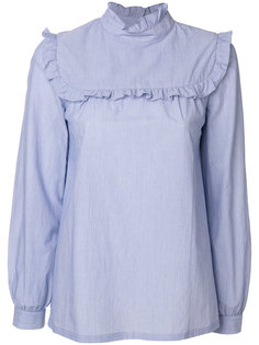 рубашка с оборкой  A.P.C.