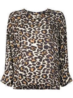 блузка с леопардовым узором Essentiel Antwerp
