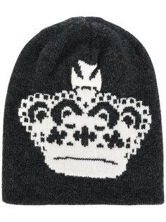 вязаная шапка Crown Dolce & Gabbana