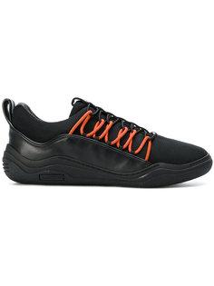 кроссовки на контрастной шнуровке Lanvin