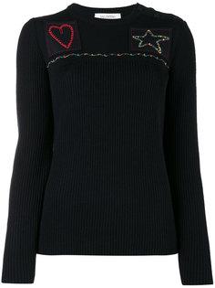 джемпер с вышивкой Valentino
