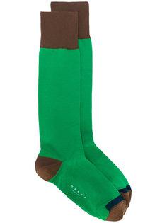 трехцветные носки Marni