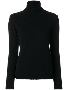 свитер в рубчик с отворотом  P.A.R.O.S.H.