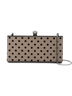 Celeste polka dot clutch  Jimmy Choo