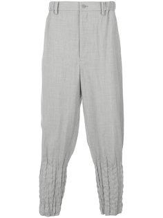 брюки с присборенными щиколотками Issey Miyake Men