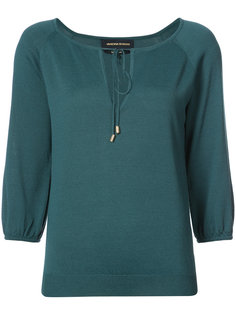 drwastring neck blouse  Vanessa Seward