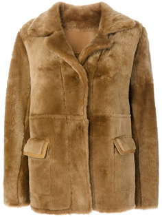 пальто Teddy из овчины Sylvie Schimmel