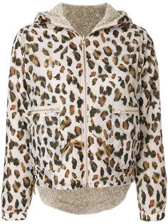 куртка с леопардовым принтом Bellerose