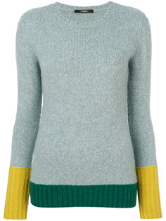 свитер колор блок  Odeeh