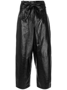 брюки с завязками на бант Valentino