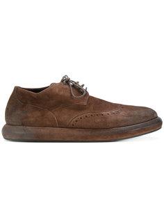 ботинки с потертым эффектом Marsèll