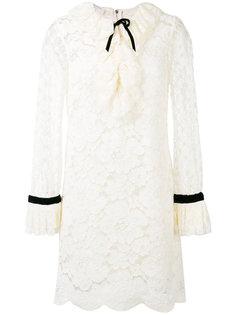 ажурное гипюровое мини-платье Philosophy Di Lorenzo Serafini