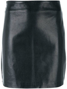 fitted leather skirt Manokhi
