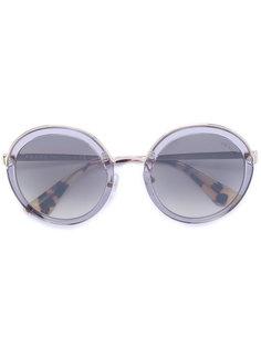 круглые солнцезащитные очки Cinema Prada Eyewear