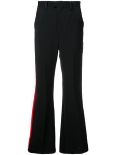patent pu lined trousers G.V.G.V.