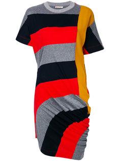 платье-футболка с драпировкой  Marni