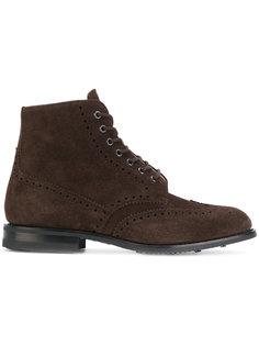классические ботинки на шнуровке Churchs