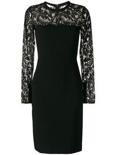 кружевное приталенное платье  Stella McCartney