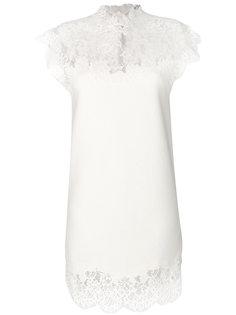 платье с кружевным верхним слоем  Ermanno Scervino