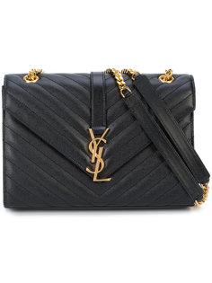 сумка через плечо с монограммой Saint Laurent