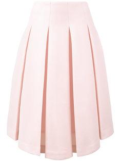 асимметричная юбка плиссе  Simone Rocha
