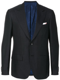 классический приталенный пиджак Kiton