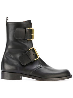 ботинки с пряжками Michel Vivien