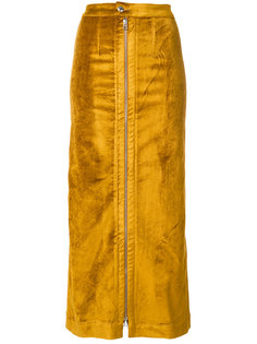 узкая юбка на молнии Eckhaus Latta