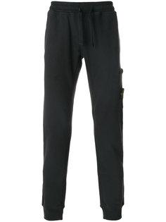 спортивные брюки с эластичным поясом Stone Island