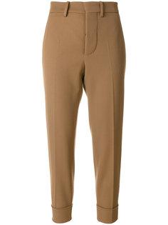зауженные брюки с манжетами  Marni