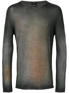 пуловер с линялым эффектом Avant Toi