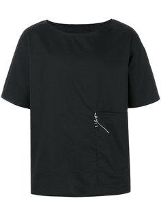 футболка с крупным карманом Alchemy