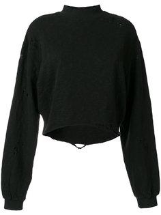 distressed sweatshirt  Thom Krom