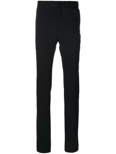 классические брюки с контрастными полосками Fendi