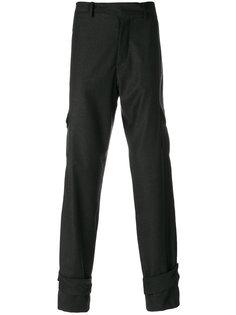 брюки с лямками на брючинах J.W.Anderson