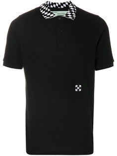 футболка-поло с принтом стрел Off-White