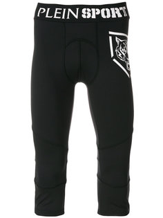 укороченные зауженные брюки Plein Sport