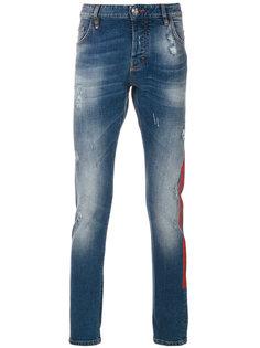 джинсы кроя слим с принтом-логотипом Philipp Plein