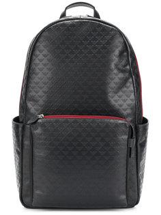 рюкзак с тисненым логотипом Emporio Armani