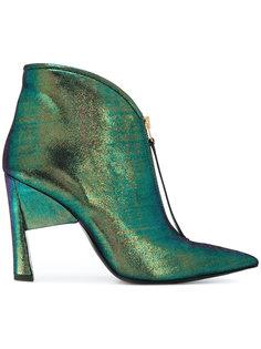 ботинки по щиколотку с заостренным носком Marni