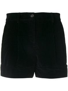 велюровые шорты P.A.R.O.S.H.