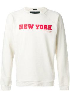 толстовка с принтом New York Marc Jacobs