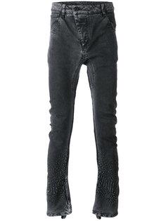 джинсы с вышивкой 11 By Boris Bidjan Saberi