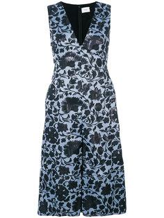 платье с цветочным принтом  Erdem