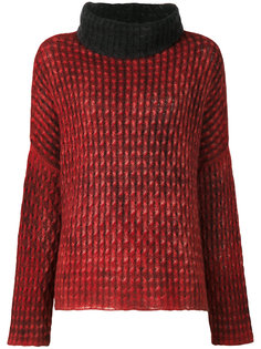 свитер с воротником трубой  Avant Toi