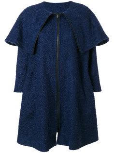 пальто на молнии с откидным клапаном Gianluca Capannolo