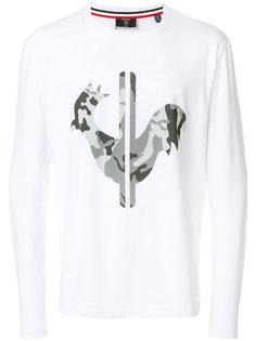 футболка с принтом-логотипом Rossignol