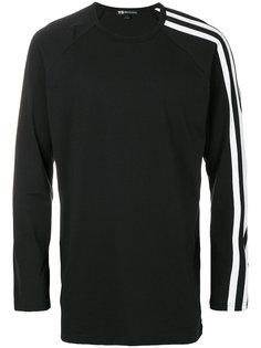 contrast stripe sweatshirt  Y-3