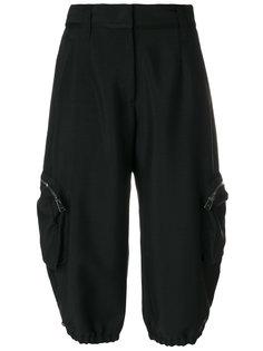брюки с карманами Cargo Fendi