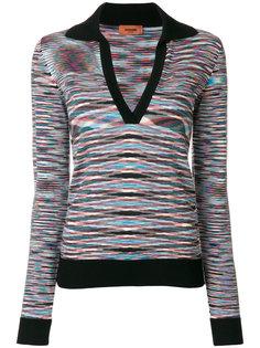 пуловер-рубашка  Missoni